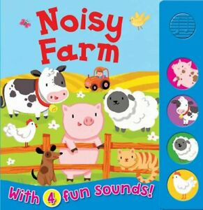 Noisy Farm (Sound Boards) by Igloo Books Book The Cheap Fast Free Post