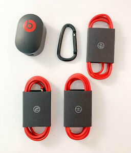 OEM Beats Studio Solo Headphones RemoteTalk Charging Cable Power Adapter Pack