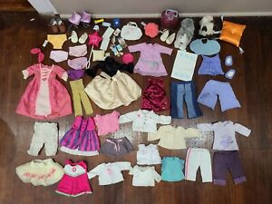 Huge Lot of American Girl Doll Clothes, Shoes, and Accessories