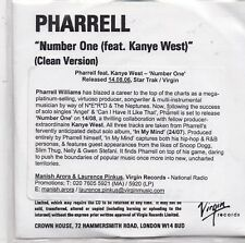Pharrell feat Kanye West-Number One Promo cd single