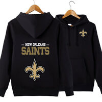 New Orleans Saints NFL Hoodie Unisex Sweater Pullover Fan Edition Hooded Coat