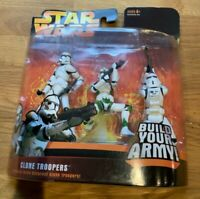 Star wars Revenge of the Sith Build army Green Clone Trooper figure set