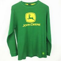 Youth Boys Large Size 14-16 John Deere Sweatshirt Green