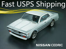 1/10 Nissan Cedric 190mm RC Onroad Drift Car Transparent Clear Body Shell 201210