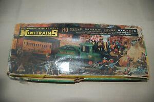 AHM Minitrains HOn2 Narrow Gauge Steam Set