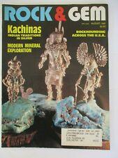 New listing 1991 August Vintage Rock & and Gem Magazine Rockhound Gold Hunters