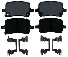 Disc Brake Pad Set-Ceramic Disc Brake Pad Front ACDelco Pro Brakes 17D1160CH