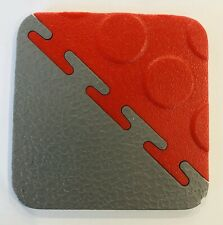 1 x Small SAMPLE Of our 7mm Pvc Interlocking Garage Workshop Flooring Tiles Gym