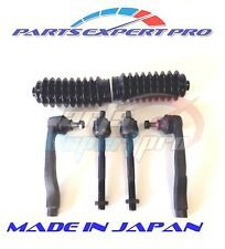 1996-2000 HONDA CIVIC TIE ROD END SET INNER OUTER MADE IN JAPAN & STEERING BOOT