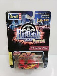 Revell Hot Hatch Euros '95 (1996) Honda Civic EK Red Yellow 1/64 86-3325