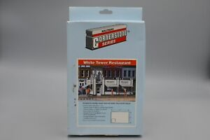 Walthers #933-3030 HO White Tower Restaurant Building Kit - Boxed
