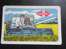 VEB Fortschritt Landmaschinen-Mähdrescher E512-DDR Taschenkalender 1984