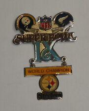 Super Bowl IX 9 Peter David Football Pin Steelers Vikings Franco Harris MVP 1975