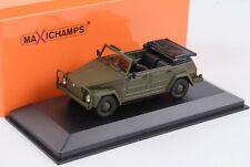 VW 181 Volkswagen 1979 Olive 1:43 Minichamps Maxichamps