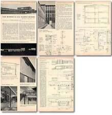 1956 Tsd Building For Ici Plastics Division Welwyn Garden City