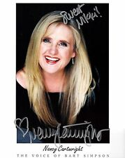 Nancy Cartwright signed 8x10 promo photo / autograph voice of Bart Simpson
