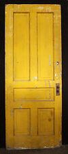 "2avail 32""x83"" Antique Vintage Victorian Solid Wood Wooden Interior Door 5 Panel"