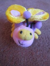 """Gund Butterfly Bug Alongs Stuffed Animal Plush Pull String Vibrate Moves Tiny 3"""""""