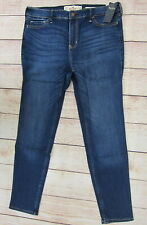 Hollister Junior's High Rise Super Skinny Jeans 13 Short Dark Wash  NWT