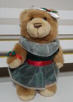 RACQ CAREFLIGHT CHRISTMAS TEDDY BEAR PLUSH TOY SOFT TOY 30CM TALL