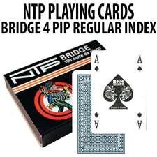 Dal Negro NTP Long Life Plastic Playing Cards Bridge Size Regular index