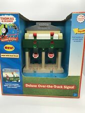 DELUXE OVER THE TRACK SIGNAL Thomas & Friends WOODEN Railway LIGHTS SOUNDS