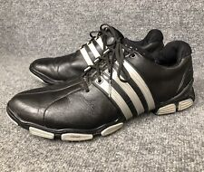 Adidas Tour 360 Powerband Chassis Black W/Silver Men's Golf Shoes Sz 12 In Euc