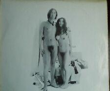John Lennon And Yoko Ono Two Virgins 1st UK Press 1968 Matrix Sapcor 2A-1/2B-1