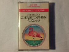 CHRISTOPHER CROSS Ride like the wind - The best of mc cassette k7 SEALED!!