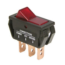 CARPOINT 0810682 Interruptor On / Descuento Rojo 12v 20a