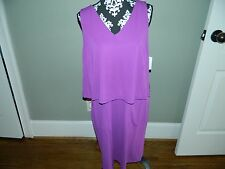 Women's Ralph Lauren Purple Dress Size 1X-NWT