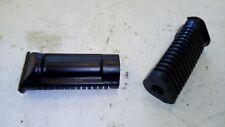 I 02540 Coppia Gomme Pedane Pedana Poggia Piedi Moto D 15 L 110 foro cieco