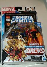 "Marvel Universe Thanos Adam Warlock 3.75"" Avengers Infinity Gauntlet rare comic"