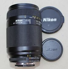 Nikon AF Nikkor 70-210mm F/4-5.6 Camera Zoom Lens w/ Caps Niko LMC-Haze