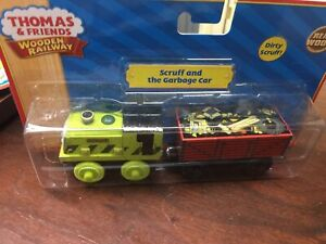 Thomas And Friends Wooden Railway Scruff And The Garbage Car