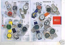 Publicité Advertising 1997 (Fascicule) Les Montres Rodania