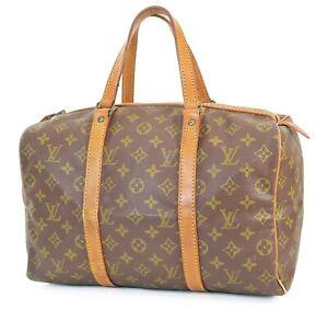 Authentic Vintage LOUIS VUITTON Sac Souple 35 Monogram Tote Duffle Bag #39114