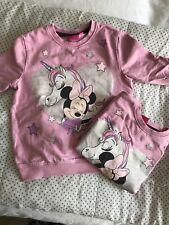 Minnie Mouse Sweatshirts 104 rosa Einhorn Zwillinge