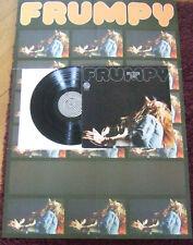FRUMPY By the Way Vertigo Swirl 1972 First Press Poster Matt Inga Rumpf Kraut LP