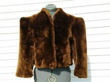 Vintage Mouton Real Fur Ladies Short Coat - Final Listing
