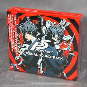 P5 - PERSONA 5 ORIGINAL SOUNDTRACK - OFFICIAL GAME SOUNDTRACK CD