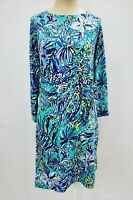"New Lilly Pulitzer Women's Hollee Dress ""Sneak a Beak"", Large"