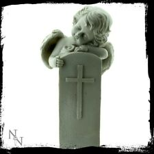 Nemesis Now Cherub Eternal Peace Statue Figure Ornament Headstone Memorial Gift