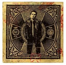 OBEY Giant Shepard Fairey mini Art Poster Print Joe Strummer The Clash