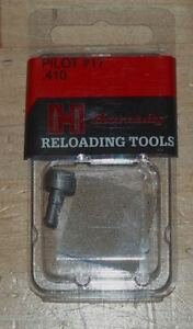 """Hornady Trimmer Pilot #17 (90959)(.410"""" Dia)-new in package"""