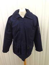 "Mens Vintage 70' Parka Coat - Xl 46"" - Navy - Great Condition"