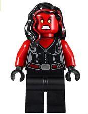 LEGO Super Heroes Incredible Hulk Minifigure Red She-Hulk She Hulk Girl 76078