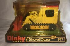 Meccano Dinky Diecast Shovel Dozer No. 977- 1970's - OLD NEW STOCK