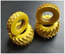 VINTAGE TAMIYA TROLL Yellow TIRES F / R SAND SCORCHER SUPER CHAMP FROG HORNET
