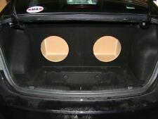 "Mustang 2-12/"" Subwoofer Box Sub Speaker Box ZEnclosures 2015 black,V2,RearFire"